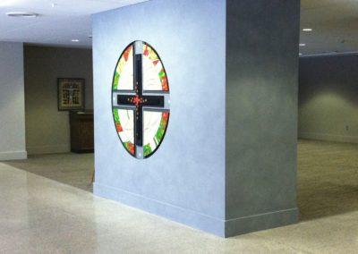 St. John's (Armourcoat Surrounding Artistic Cross)