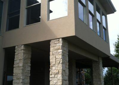 Back Porch Stucco