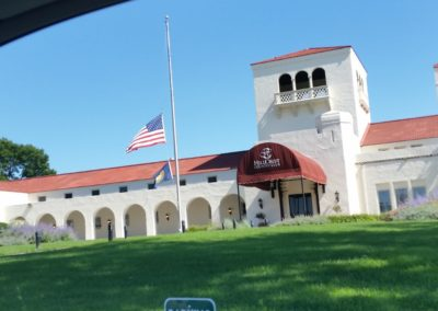 Hillcrest Country Club Stucco Repairs